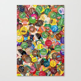 KCup Collage Canvas Print