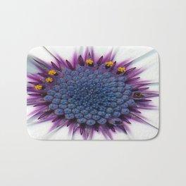 Stunning African Daisy Tropical Flower Macro Bath Mat