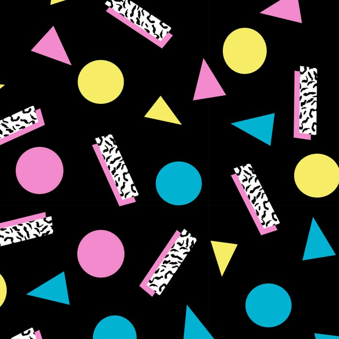 Max Out - abstract memphis minimal colorful neon bright happy shapes geometric 1980s 80s retro Leggings