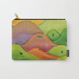 spiritual drawing - singing hills - Psalm 98:8 Carry-All Pouch