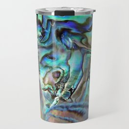 Abalone shell Travel Mug