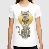 returns T-shirts featuring Ancient Cat Returns by Fathi