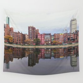 Pink Reflections Wall Tapestry