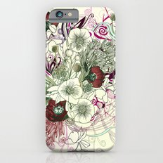 Zentangle Floral mix II iPhone 6s Slim Case