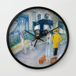Monte-Carlo Cartier Society Women Wall Clock