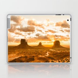 Southwest Wanderlust - Monument Valley Sunrise Nature Photography Laptop & iPad Skin