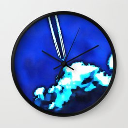 Nothing To Hide Wall Clock