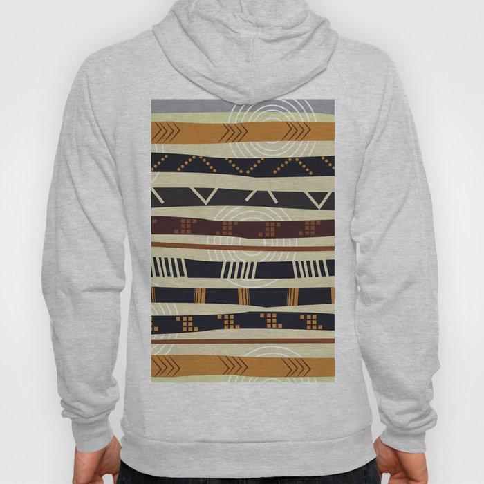 African Tribal Pattern No. 35 Hoody