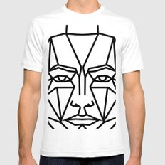 SMBB88 White SMALL Mens Fitted Tee