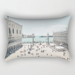 European Cities - Venice, St. Mark's Square Rectangular Pillow