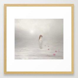 Water Reflections Framed Art Print