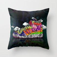 Horror Vacui - Baskets01 Throw Pillow