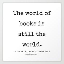 35   | 200210 | Elizabeth Barrett Browning Quotes Art Print