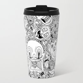 Random Doodles Travel Mug