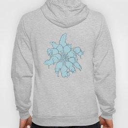 Ratking Flowers [Blue] Hoody