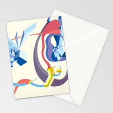 Diamonds, Hoses, Stairs, and Light Stationery Cards