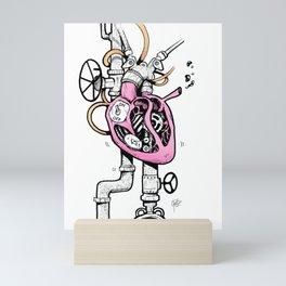 Shut off my heart Mini Art Print