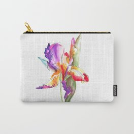 watercolor flower Carry-All Pouch