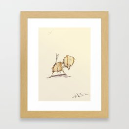 #coffeemonsters 503 Framed Art Print
