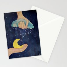 Handmade Night Stationery Cards