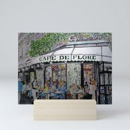 Cafe de Flore Mini Art Print