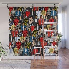 King MJ Pop Music Fashion LV Wall Mural