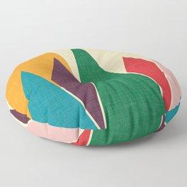 solar mountain #homedecor #midcentury Floor Pillow