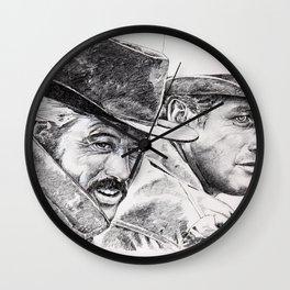 butch cassidy and the sundance kid Wall Clock