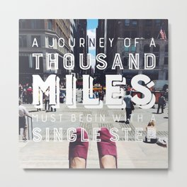 Your Journey Metal Print