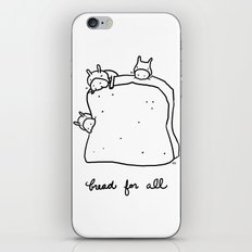 bread for all iPhone & iPod Skin