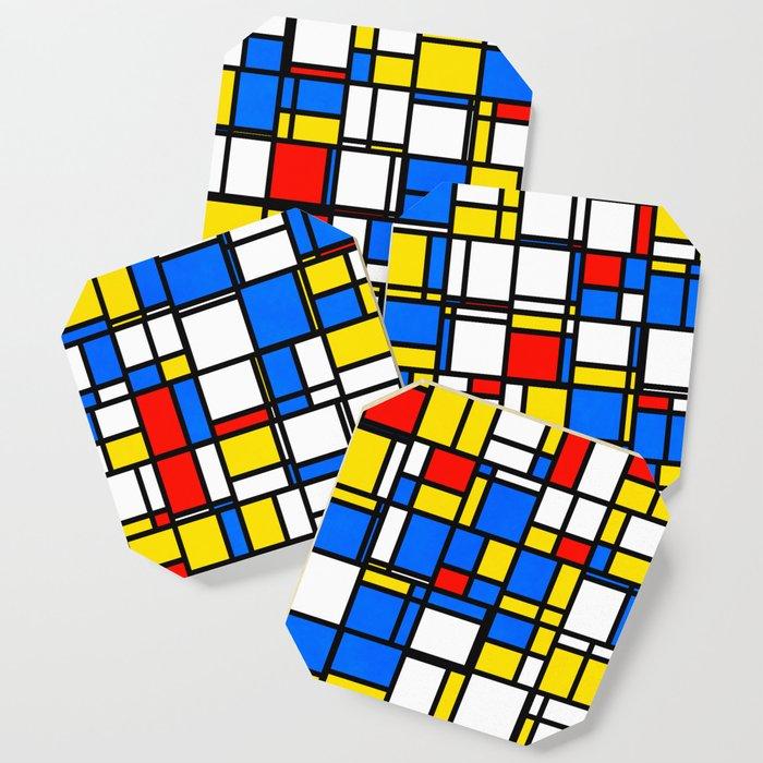 Mondrian Style 2 Coaster