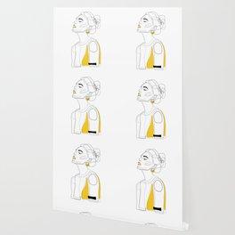 Yellow Lip Wallpaper