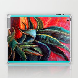 Southwest-western Style Desert Agave in Sunrise Laptop & iPad Skin