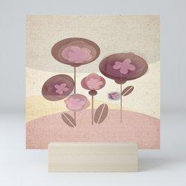 Flowers en Rose Mini Art Print