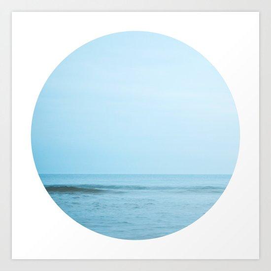 Nautical Porthole Study No.2 Art Print