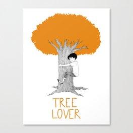 TREE LOVER - fall version Canvas Print