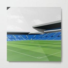 Leeds United Stadium Print, Elland Road Metal Print