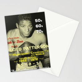 Boxing and Boxer: Floyd Patterson Stationery Cards
