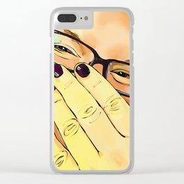 Bashful Clear iPhone Case