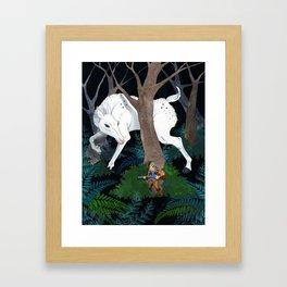 Daniel Boone's Deer Framed Art Print