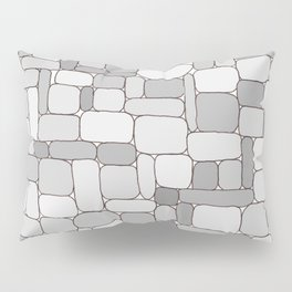 Stone Wall #4 - Grays Pillow Sham
