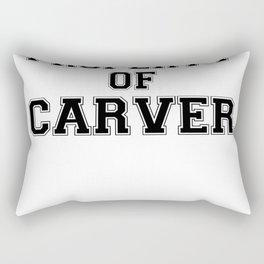 Property of CARVER Rectangular Pillow
