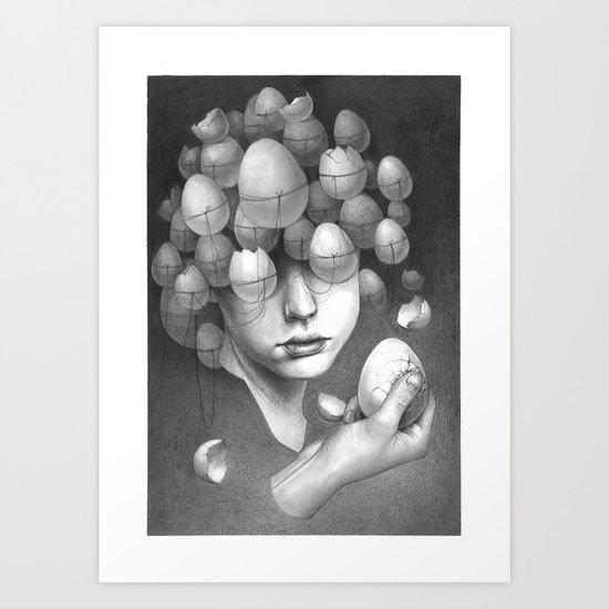 FRAGILE 3# Art Print