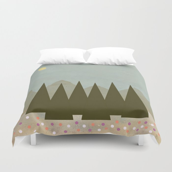 The Wildflowers Duvet Cover