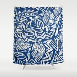 Hawaiian tribal pattern Shower Curtain