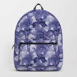 Flower Play in Blue Backpack