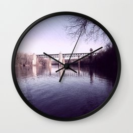 Muted Morning Wall Clock