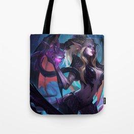 Dragon Sorceress Zyra League Of Legends Tote Bag