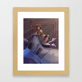 I Love Rock 'n Roll Framed Art Print