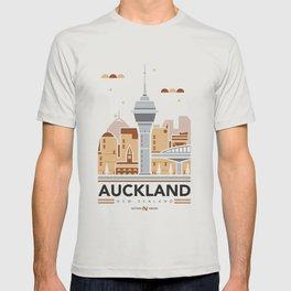 City Illustrations (Auckland, New Zealand) T-shirt